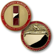 U.S. Marines Warrant Officer 1 Engravable Challenge Coin by Northwest Territorial Mint