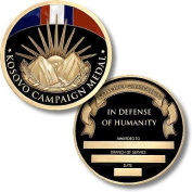 Kosovo Campaign Medal Coin - Engravable Challenge Coin by Northwest Territorial Mint