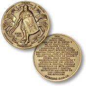 Armour of God - Spanish Version Challenge Coin by Northwest Territorial Mint