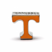 "University of Tennessee Orange ""T"" Bead Charm"