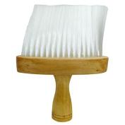 Professional Hairdressing/Barber Wooden Neck Brush - Soft Bristles