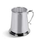 Christening Child's Mug - Silver Plated Traditional Baby Naming Gift