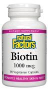 Biotin 1000 mcg 90 Vcap