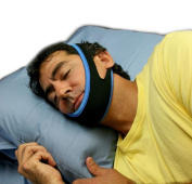 Pro11 wellbeing Stop Snoring Sleep Apnea Chin Strap - Anti Snore Solution for Good Morning with sleep booklet