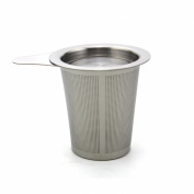 Zicome Stainless Steel Reusable Coffee Tea Filter, Fine Mesh, Tea Infuser with Lid