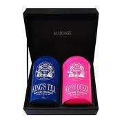 ROYAL TEA 2 teas gift set - blue & green King's Tea® & Happy Queen®