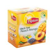[Imported] Lipton Black Tea Peach and Mango 20 teabags x 1,8 gr