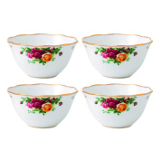Royal Albert Old Country Roses Bowl ( Set of 4), 11cm , Multicolor