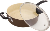 The Stone Earth Sauce Pan by Ozeri, with 100% PFOA-Free Stone-Derived Non-Stick Coating from Germany