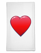 TooLoud Cute Cartoon Heart Flour Sack Dish Towels