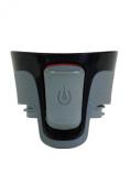 Contigo Autoseal Aria Replacement Lid, Black/Grey