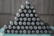 Brand New Supply Guy 8mm US State 50 Piece Metal Punch Design Stamp Set