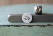 Brand New Supply Guy 7mm Lotus Flower Metal Punch Design Stamp