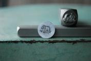 Brand New Supply Guy 8mm Boho Elephant Metal Punch Design Stamp