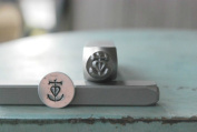 Brand New Supply Guy 8mm Carmague Cross Metal Punch Design Stamp