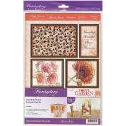 Poppy Garden Premium A4 Card Kit-Duo-Slider Reveal