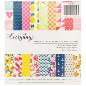 American Crafts Pebbles Jen Hadfield Everyday 15cm X 15cm 36 Sheet Paper Pad