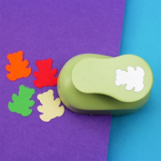 "Thanksgiving Christmas Gift decoration 1""2.5cm Shape Bear Handmade Work Children DIY Tool Large Size Paper EVA Sponge Paper Craft Punch for Card Scrapbook Labour-saving"