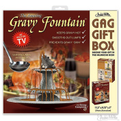 The Amazing Gravy Fountain Joke Novelty GIFT BOX