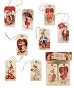 Bethany Lowe Vintage Inspired Valentine's Day Paper Gift Tags