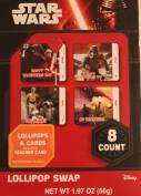 Star Wars 10 Valentines Cards 10 Lollipops