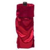 Red Satin Gift Bag, 2-Pack
