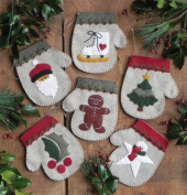 Rachel's Of Greenfield Warm Hands Ornament Kit, Set of 6 by Rachel's Of Greenfield
