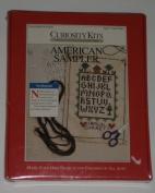 """""""American Sampler"""" Needlepoint Kit"""