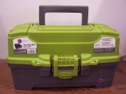 Creative Options 2 Tray Box Storage Craft Organiser Tackle Box