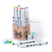 MTN 94 Graphic Markers Basic Set of 12 Professional Ink Markers
