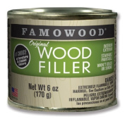 FAMOWOOD Original Wood Filler - Alder - 1/4 Pint Net Wt 180ml(170g) by Eclectic Products, Inc.