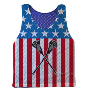 Guys Lacrosse Pinnie USA Lax