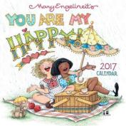 Mary Engelbreit 2017 Mini Wall Calendar