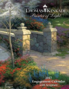 Thomas Kinkade Painter of Light with Scripture 2017 Engagement Calendar