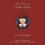 The Poetry of Lang Leav 2017 Wall Calendar