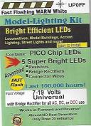 UP0FF Fast Flashing Warm White Pico LED chip
