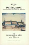Recueil Des Instructions Aux Ambassadeurs Et Ministres de France [FRE]