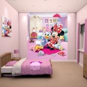 Walltastic Minnie Mouse Wallpaper Mural