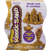 Kinetic Sand 0.5kg Metallic Sand - Gold