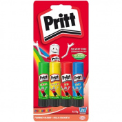 Pritt Stick Rainbow Glue x 4