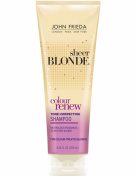 John Frieda Haircare Sheer Blonde Colour Renew Tone Refresh Shampoo, 250ml