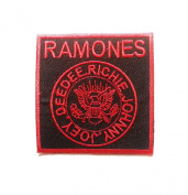 Ramones Music Band Style-3 Embroidered Iron On Patch