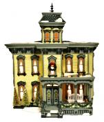 Department 56 Snow Village Italianate Villa American Architecture Series