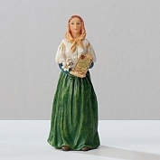 Blessed By Pope Francis St Saint Dymphna About 10cm Patron Saint of Mental Health