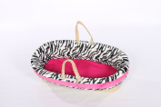 Baby Doll Moses Basket, Pink