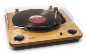 Max LP Conversion Turntable with Stereo Speakers