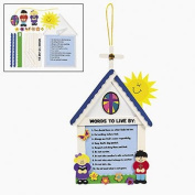 10 Commandments For Kids Craft Kit - Religious Crafts & Bible Story Crafts
