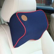 Calcifer Brand New Fashion Comfortable Memory Foam Head Massage Car Neck Pillow Headrest Seat