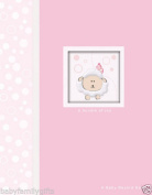 Havoc Gifts 1645-9 Baby Record Book Photo Album, Girl