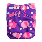 LilBit Print Adjustable Reusable baby cloth nappy cover